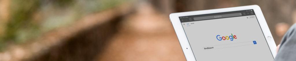 Google mobile Suche SEO gefunden werden indbaum
