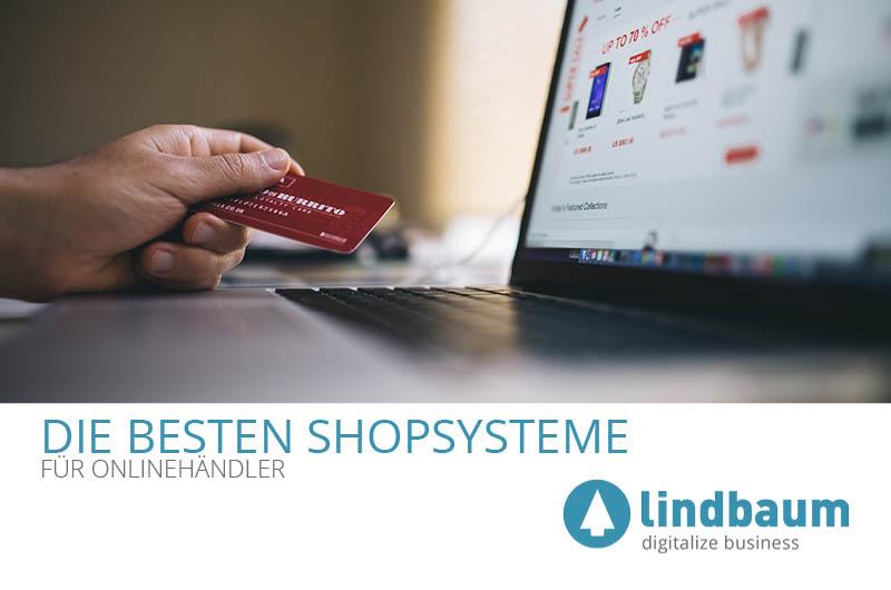 Shopsysteme Onlinehandel Beitragsbild